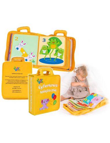 Jolly Baby Cyferkowa Książeczka Materiałowa PL 80470
