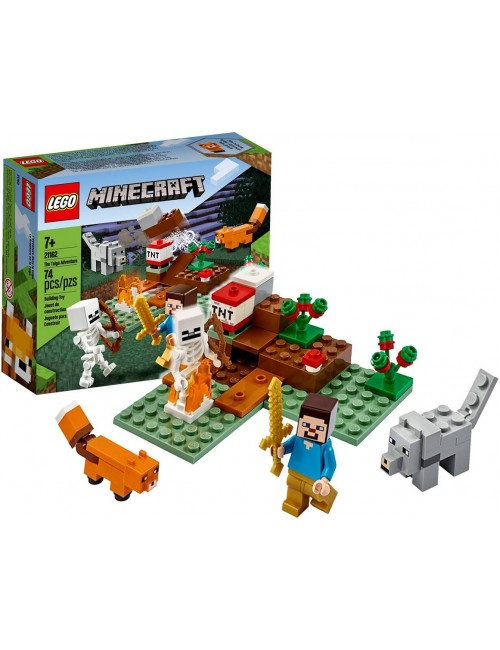 LEGO MINECRAFT Przygoda w Tajdze Klocki 21162