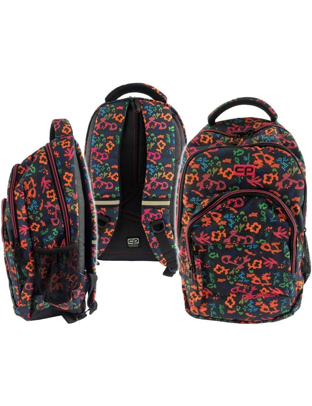 Plecak Szkolny Coolpack 27L Floral Dream 69489