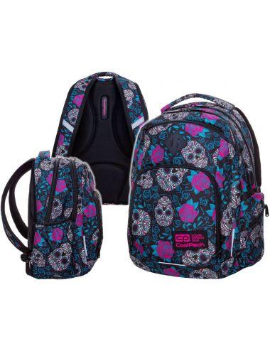 CoolPack Plecak Szkolny Skull & Roses Break 30 L Młodzieżowy 24049
