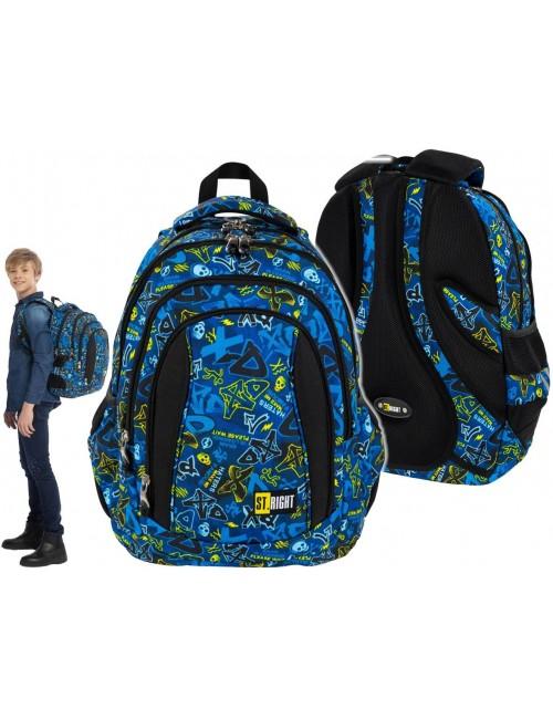 ST.RIGHT XD Art plecak szkolny 4-komorowy BP4