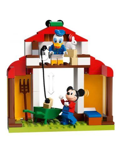 LEGO Disney Farma Mikiego i Donalda Zestaw Klocków 10775