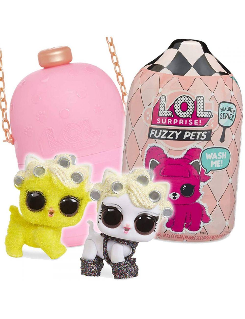 LOL Surprise Fuzzy Pets L.O.L. Zwierzątko Niespodzianka 557111 MGA