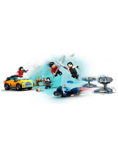 LEGO Shang-Chi Ucieczka przed Dziesięcioma Pierścieniami Marvel 76176