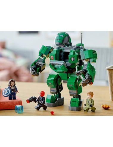 LEGO Marvel Kapitan Carter i Niszczyciel Hydry Klocki 76201