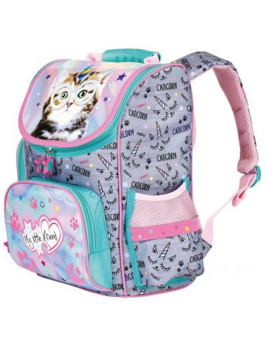 Tornister Szkolny My Little Friend Catcorn Plecak Kot