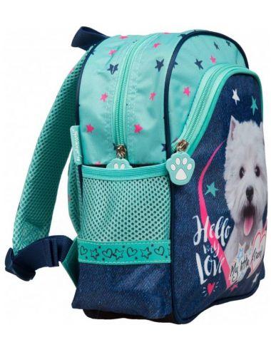 St.Majewski Plecak Szkolny Wycieczkowy My Little Friend Dog 204937