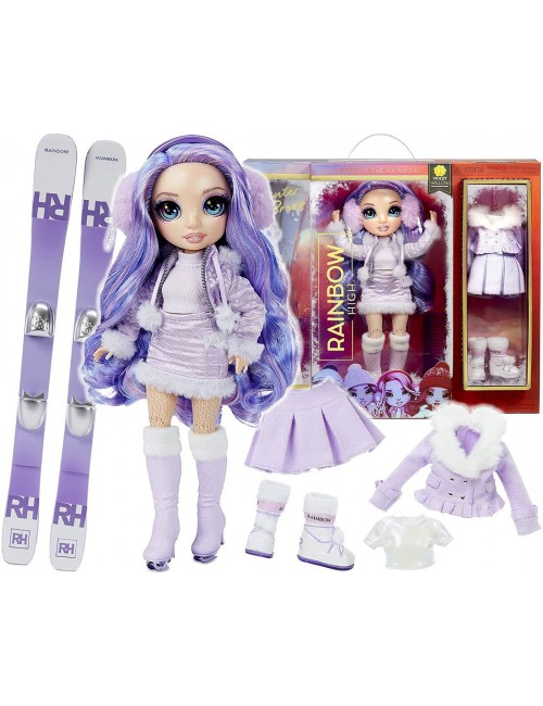 Rainbow High Violet Willow Lalka Modowa Winter Break 574804