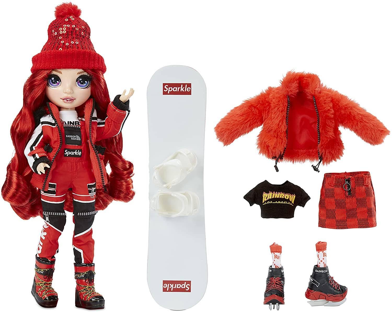 Модная кукла Rainbow High Ruby Anderson Winter Break 574286