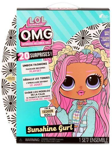 Lol Surprise OMG Sunshine Gurl Lalka Modowa 572787