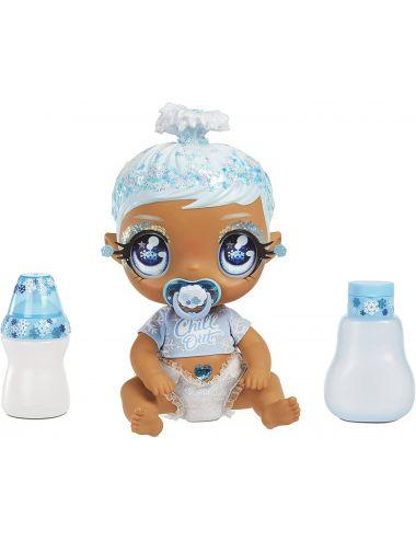 Glitter Babyz Lalka Zmieniająca Kolor Włosów January Snowflake 574859