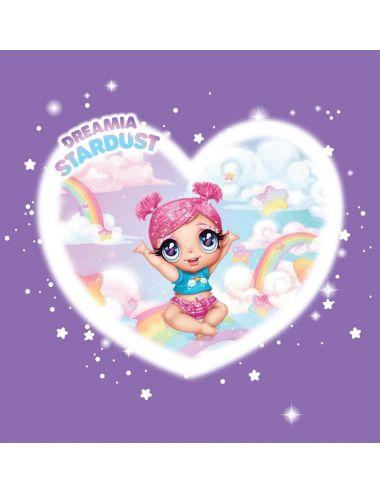 Glitter Babyz Lalka Zmieniająca Kolor Włosów Dreamia Stardust 574842