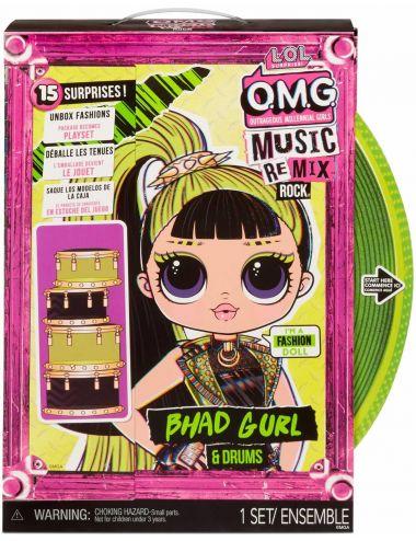 LOL Surprise OMG Remix Rock Lalka Bhad Gurl z Perkusją 577584