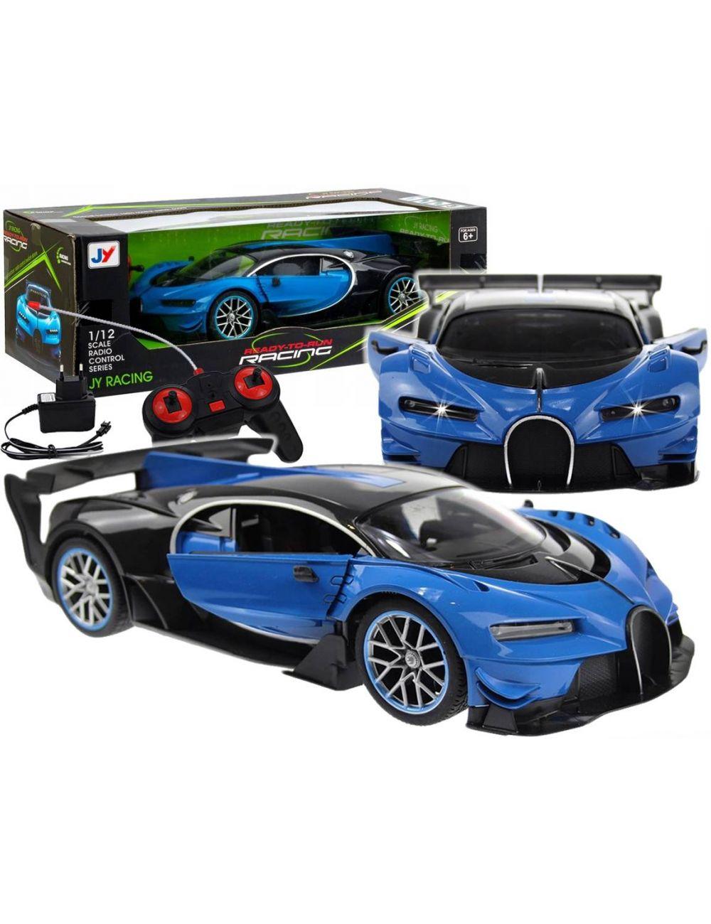 Auto Sportowe Bugatti Zdalnie Sterowane LED 1004031