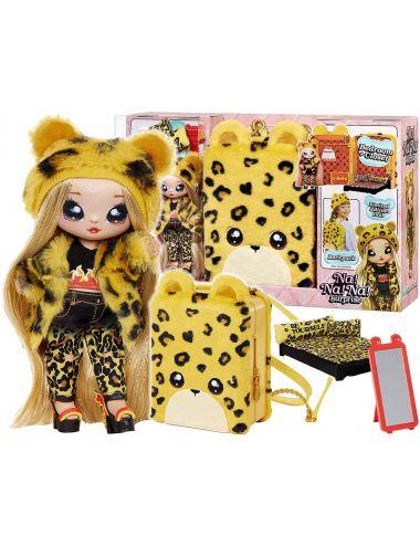 NaNaNa Plecak i Laleczka Jennel Jaguar Żółty Gepard 3w1