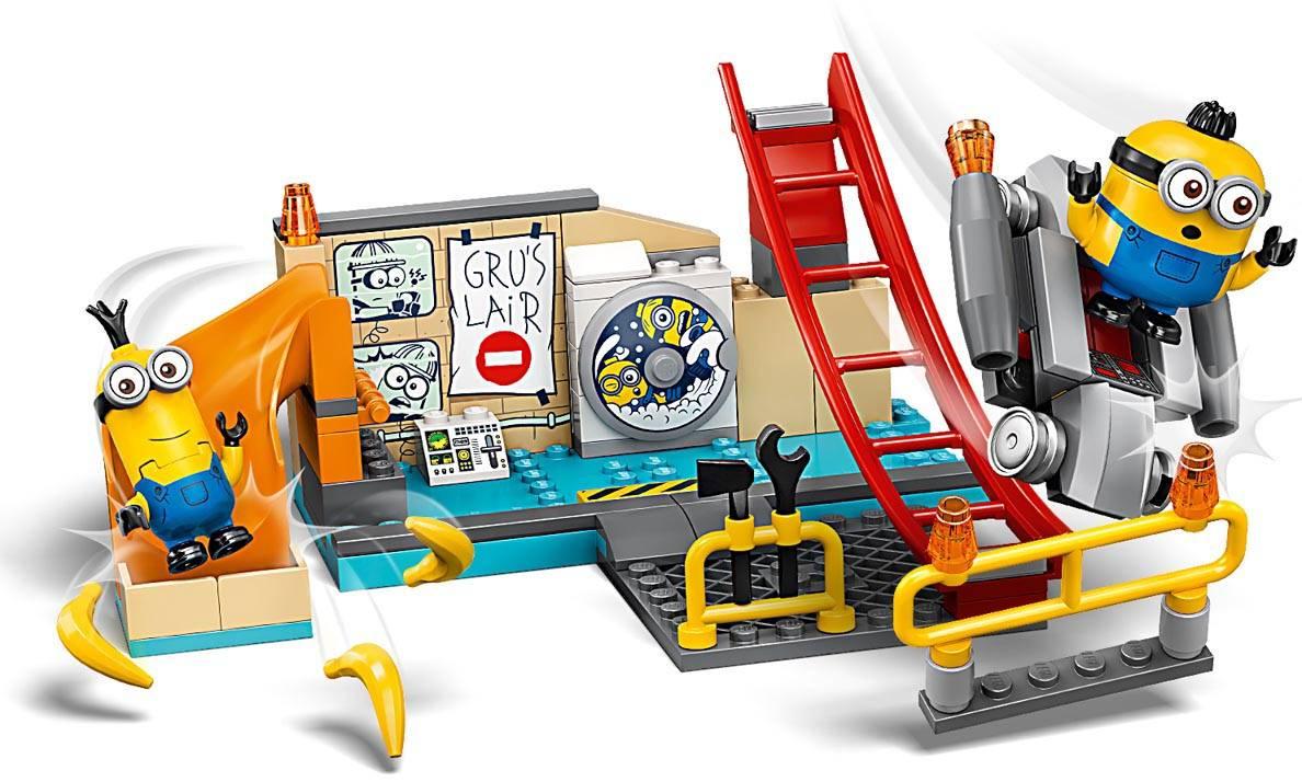 LEGO Minions Minionki w laboratorium Gru 75546