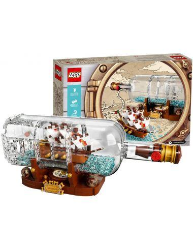 LEGO Ideas Statek w Butelce Zestaw Klocki 92177