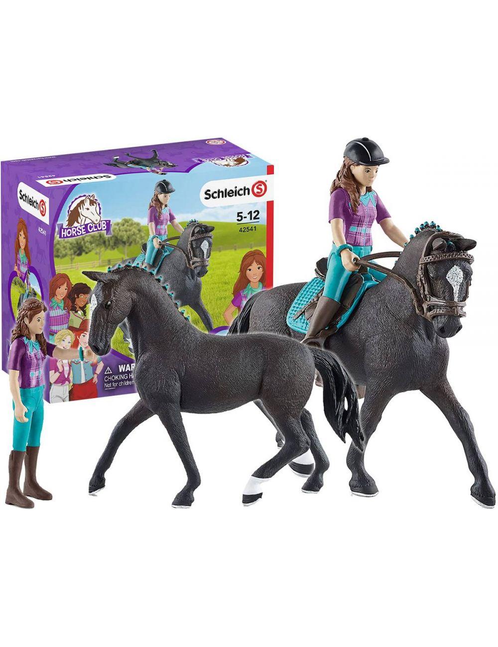 Schleich 42541 Lisa & Storm Horse Club Jeździec Koń Figurka