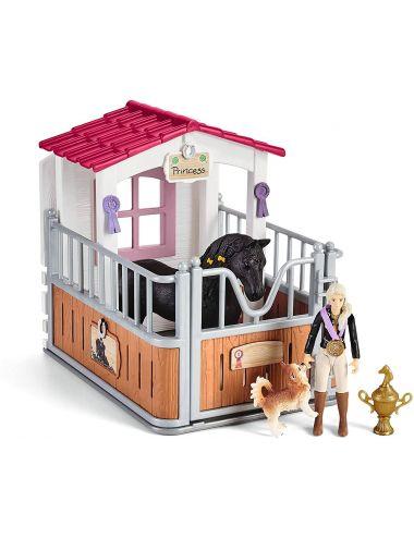 Schleich 42437 Zagroda Dla Koni Tori & Princess Horse Club
