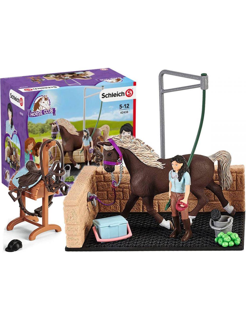Schleich 42438 Myjnia Dla Koni Emily & Luna Horse Club