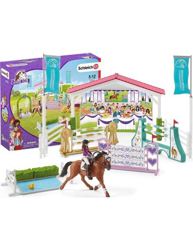 Schleich 42440 Wyścigi Konne Horse Club Sofia & Lisa Turniej