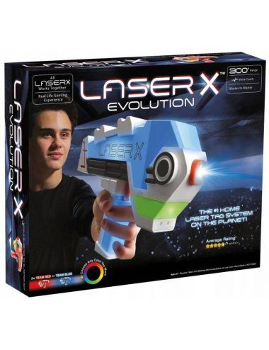 Laser X Evolution Pistolet Laserowy Zestaw Pojedynczy 88911