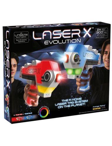 Laser X Evolution Pistolety na Podczerwień Zestaw Podwójny 88908