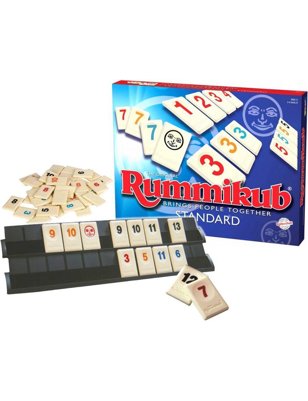 RUMMIKUB Standard Gra Planszowa Oryginalna LMD2610