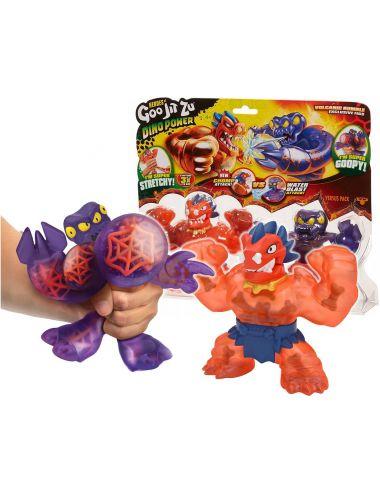 GOO JIT ZU Figurki Dino Power Magma Seria 3 GOJ41111