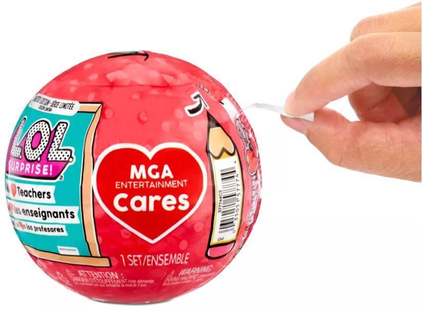 LOL Surprise MGAE Cares Laleczka Nauczycielka 577744