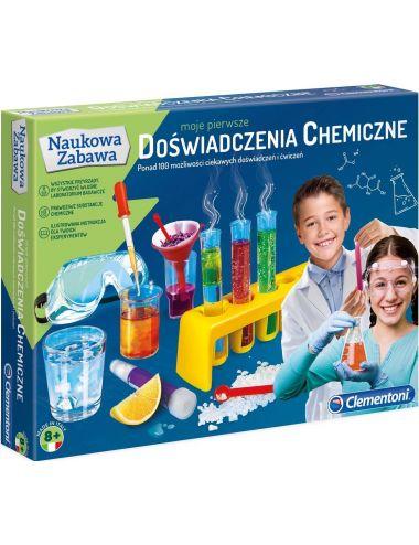 Clementoni Moje Pierwsze doświadczenia chemiczne 60774