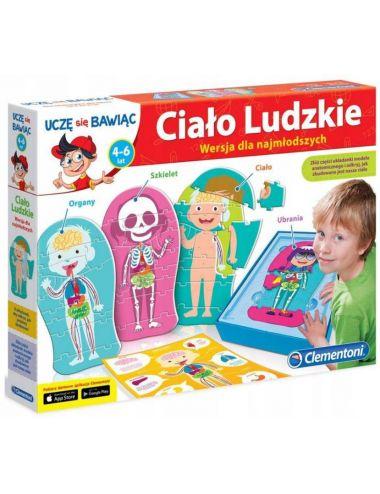 Clementoni Ciało Ludzkie Puzzle Wersja dla Najmłodszych 60931