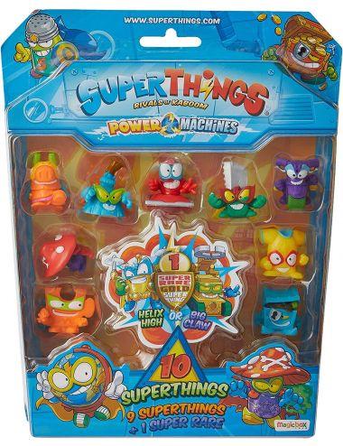 Super Things Power Machines Blister 10 Pack Figurki Zestaw