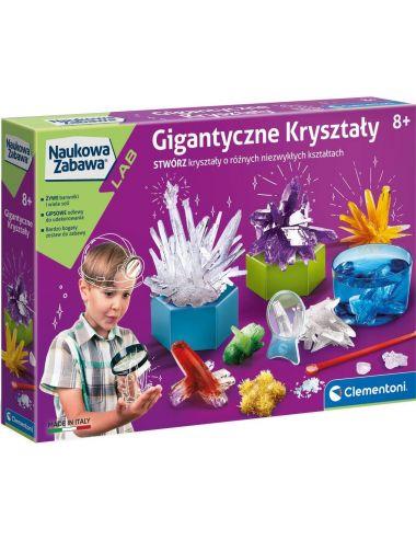 Clementoni Gigantyczne Kryształy Naukowa Zabawa 50106