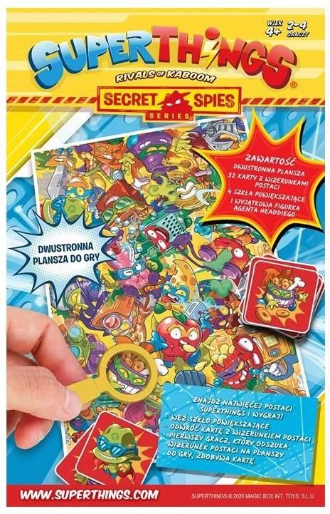 Super Zings Znajdz Szpiega gra planszowa 11035