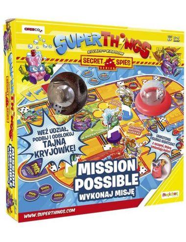 SuperThings Wykonaj Misję Mission Possible Gra Planszowa 11036