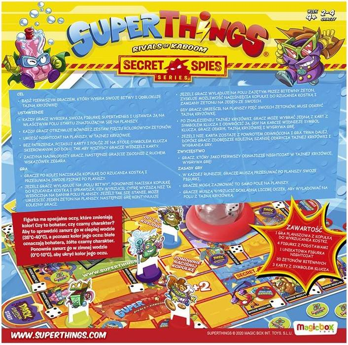 Super Zings Wykonaj Misje gra planszowa 11036