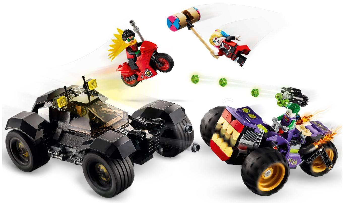 LEGO Batman Trojkolowy Motocykl Jokera 76159