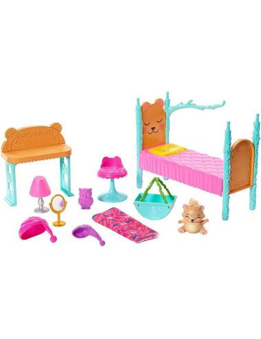 Enchantimals Lalka Sypialnia Mebelki FRH46 Mattel
