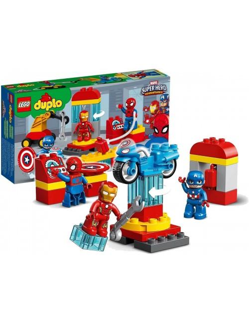 LEGO Duplo Laboratorium Superbohaterów Marvel 10921