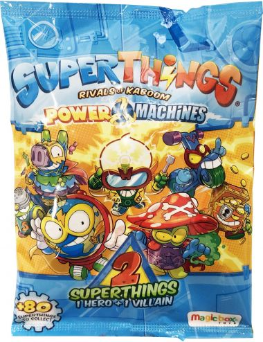 Super Things Power Machines 2 Pack Seria 7 Figurki Zings