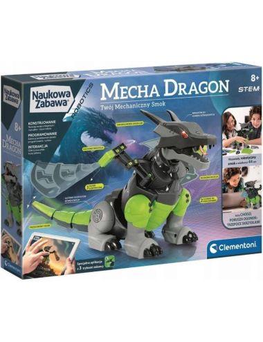 Clementoni Mechaniczny Smok Mecha Dragon Programowanie 50682
