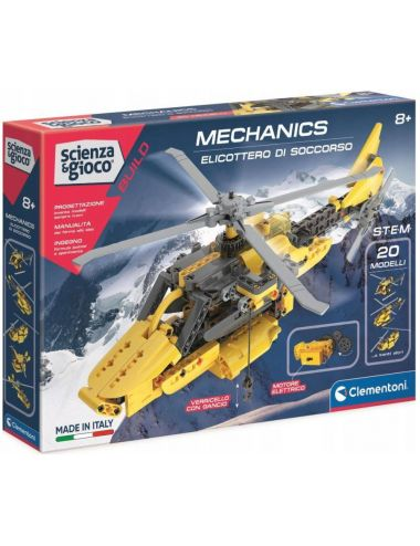 Clementoni Laboratorium Mechaniki Helikopter Ratowniczy 50687