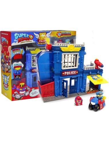 Super Zings posterunek policji figurki pojazd MagicBox