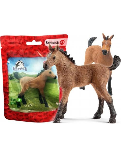 Schleich 13854S Koń Rasy Quarter Źrebię Horse Club Red