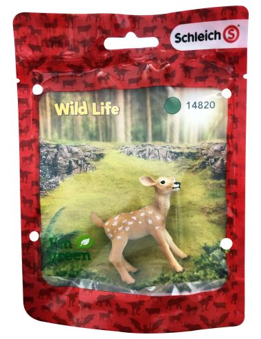 Schleich 14820S Biały Jeleń Jelonek Wild Life RED Figurka