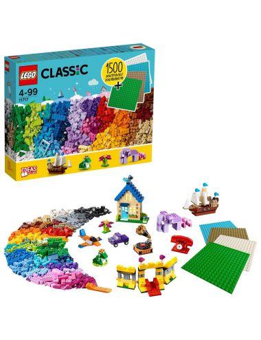LEGO Classic Klocki Klocki Płytki Zestaw 11717