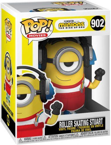 Funko POP! Movies Roller Skating Stuart Minions Figurka 902