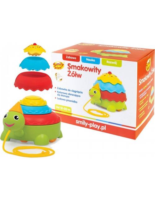 Smily Play Interaktywny Smakowity Żółw Do Ciągnięcia SP82929