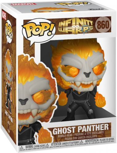 Funko POP! Marvel Ghost Panther Infinity Warps Figurka 860